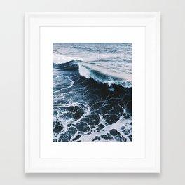 Marble Ocean Framed Art Print