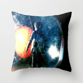Wayne Coyne Embryo Throw Pillow