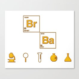 bad chemical Canvas Print