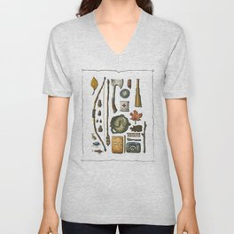 Little Camper Series No. 1 Unisex V-Neck