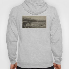 Vintage Illustration of a Baseball Game (1894) Hoody