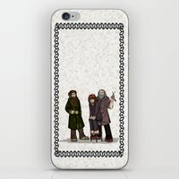 nori iPhone & iPod Skins featuring Hair Care by wolfanita