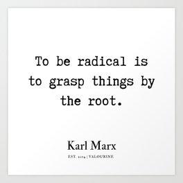 9   | Karl Marx Quotes | 190817 Art Print