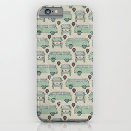 On My Way To Everywhere Pattern iPhone Case