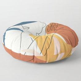 Minimal Movement I Floor Pillow