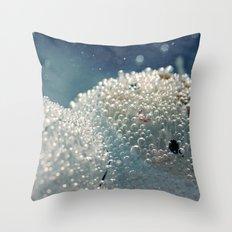 Polar freeze Throw Pillow