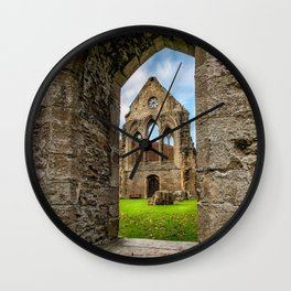 Valley of the Cross Wall Clock