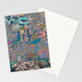 BUDDHA IN THE MISTS OF TIME Stationery Cards