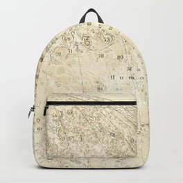 Antique Moon Map Backpack