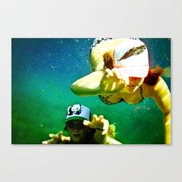 Beneath the Waters Edge Canvas Print