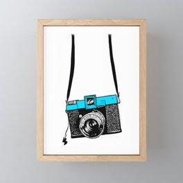 Diana Color Framed Mini Art Print