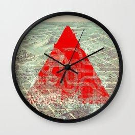Rusty Future Wall Clock