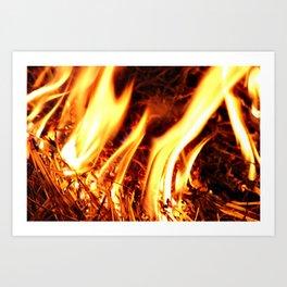 Flames I Art Print