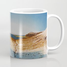 View from Esja to Walfjord - Iceland / Oil Painting Coffee Mug