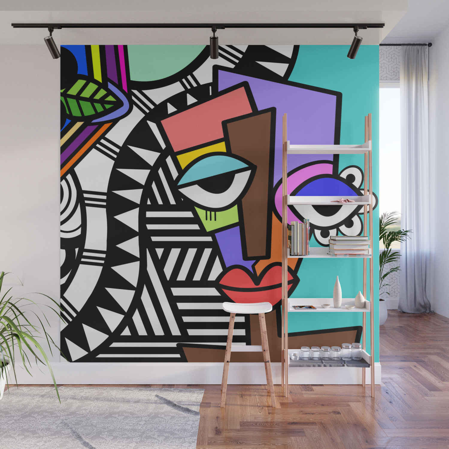 Artsy Cool Wall Murals