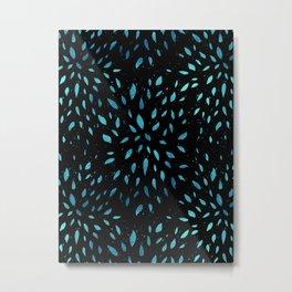 Star Leaf Metal Print