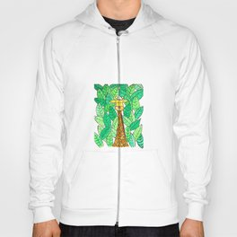 Watercolor Giraffe Hoody
