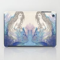 pisces iPad Cases featuring Pisces by katiwo