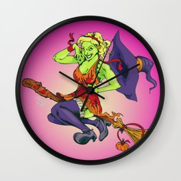Hallowitch Wall Clock