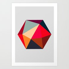 Hex series 1.2 Art Print