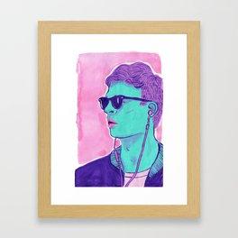 B-A-B-Y BABY Framed Art Print