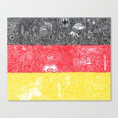 Made In Germany Canvas Print