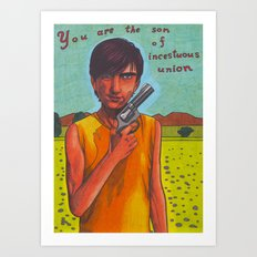 Son of a Gun Art Print