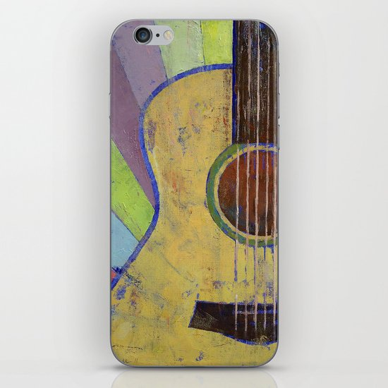 Sunrise Guitar iPhone & iPod Skin