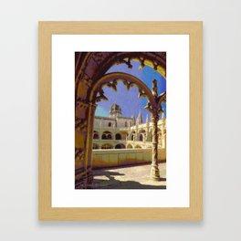Mosteiro dos Jeronimos, Belem Framed Art Print