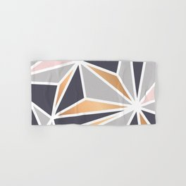 Geometry Gold 047 Hand & Bath Towel