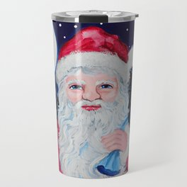 Santa's Helper Travel Mug