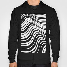 Organic Stripes #08: Monochrome version Hoody
