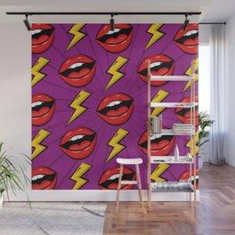 Pop Fashion Pattern Wall Mural