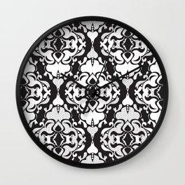 Lace Damask Wall Clock