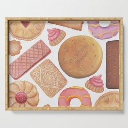 Biscuit Selection Serving Tray