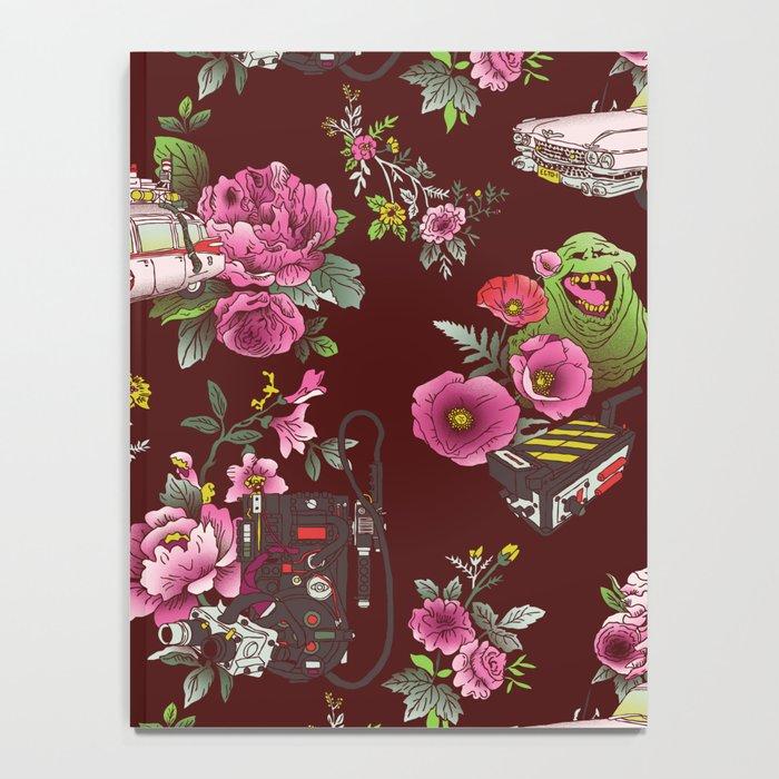 Ecto Floral Notebook