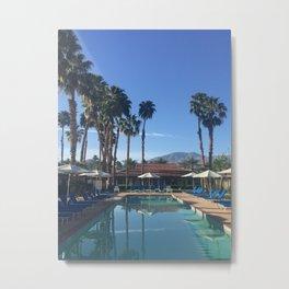 La Quinta Mornings: Palm Desert Metal Print