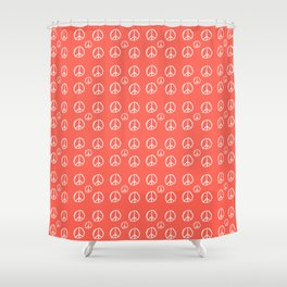 Symbol of peace 3 Shower Curtain