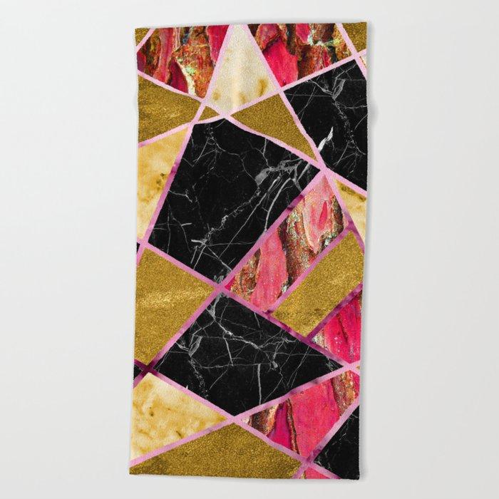 Abstract #456 Beach Towel