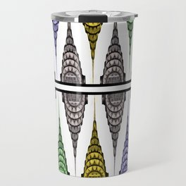 Chrysler Building Shower Curtain Travel Mug
