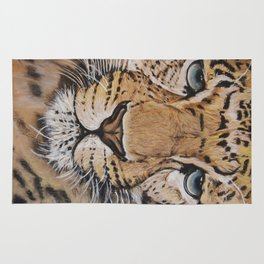 Chinese Leopard; Drawing Rug