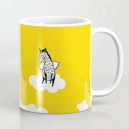 Flying Pony by Amanda Jones Coffee Mug