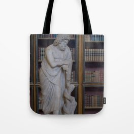 Asclepius the Healer Tote Bag