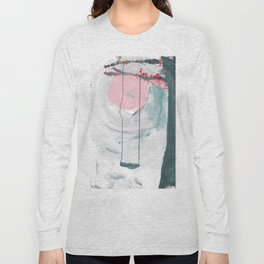 Swing in the Flower Tree Long Sleeve T-shirt