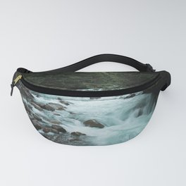 Pacific Northwest River II - Nature Photography Fanny Pack