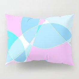 Abstract Wavy Visual Graphic Design V.5 Pillow Sham