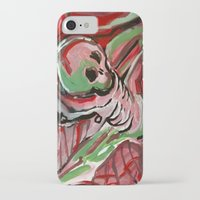 skeleton iPhone & iPod Cases featuring Skeleton by Helen Syron