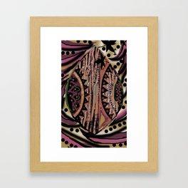 Africa Art Abstract Framed Art Print