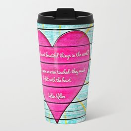 Felt with the Heart Travel Mug
