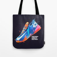 nike Tote Bags featuring NIKE ZOOM by Ian Quijano